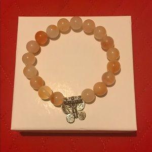 Jewelry - Carnelian Bracelet with charm